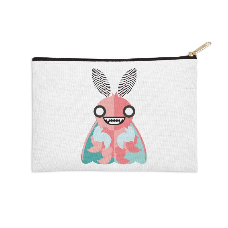 Baby Mothra Accessories Zip Pouch by libedlulo