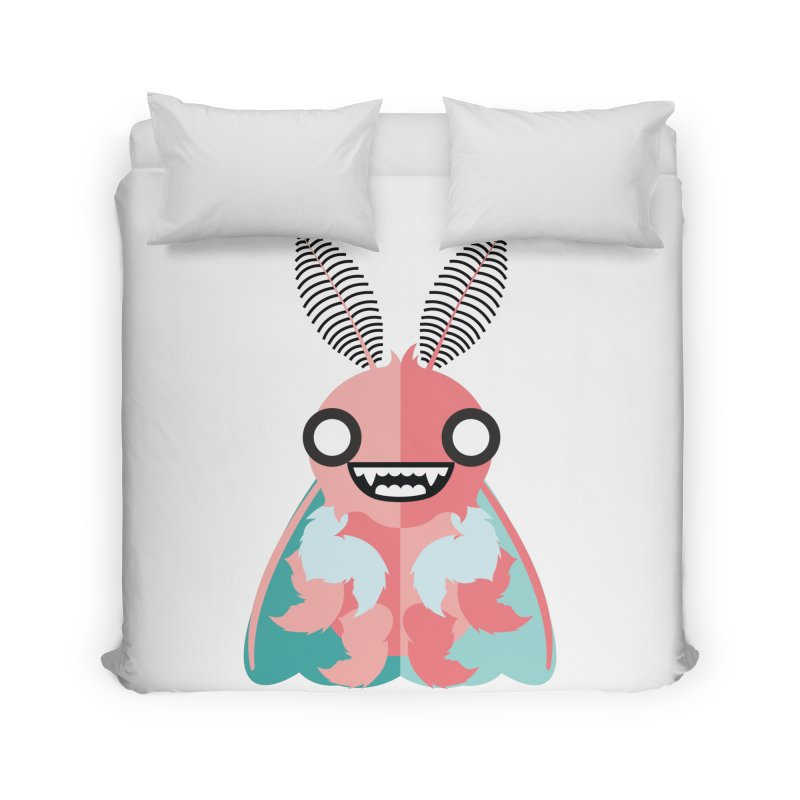 Baby Mothra Home Duvet by libedlulo