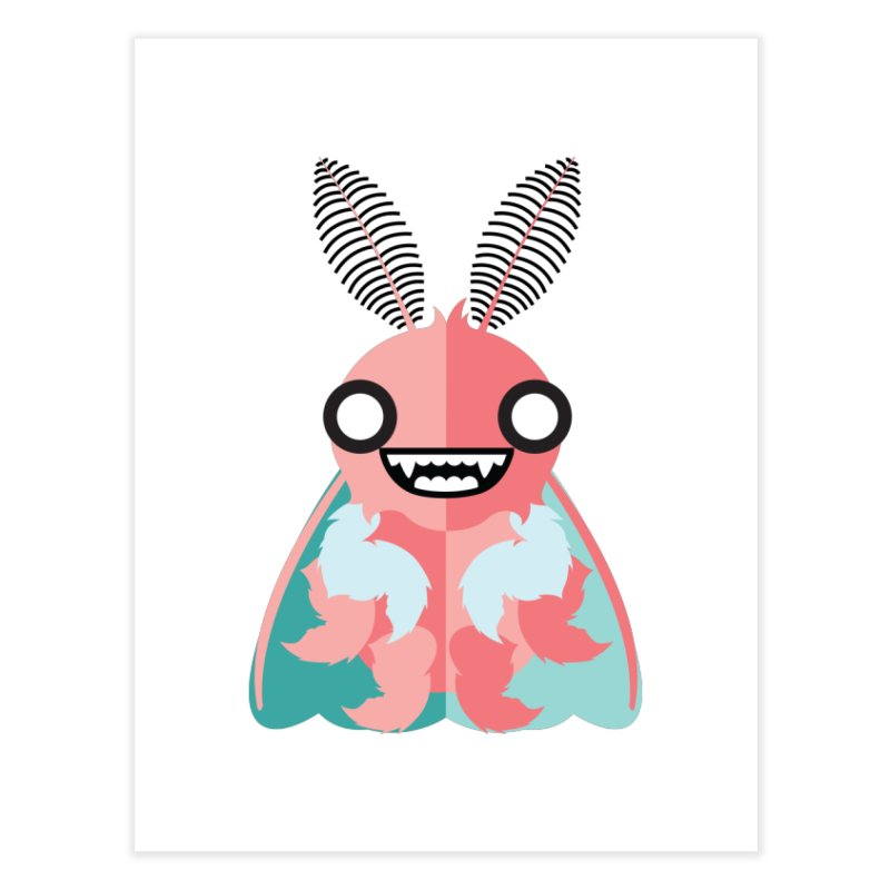 Baby Mothra Home Fine Art Print by libedlulo