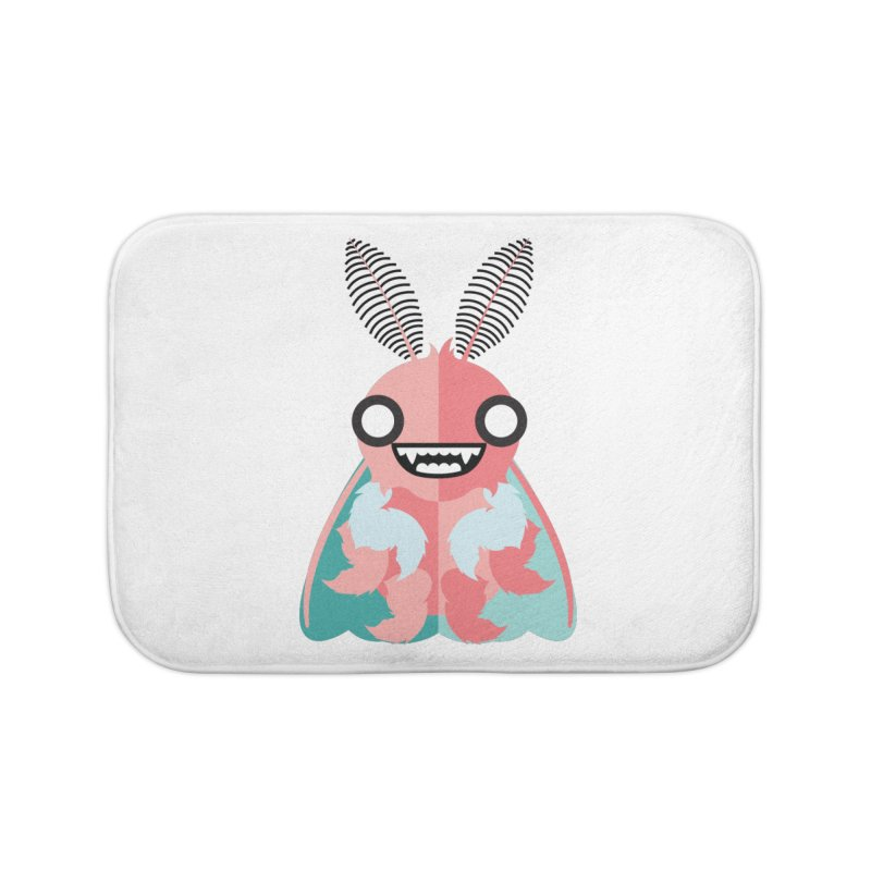 Baby Mothra Home Bath Mat by libedlulo