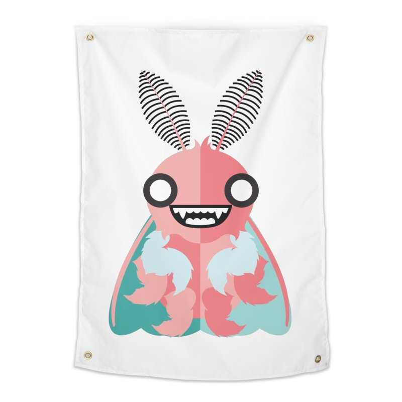 Baby Mothra Home Tapestry by libedlulo