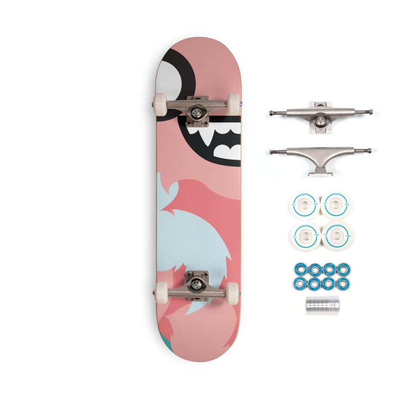 Baby Mothra Accessories Skateboard by libedlulo