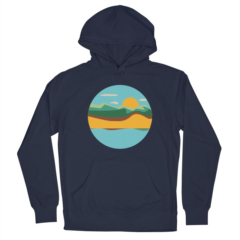 Beach Town Men's Pullover Hoody by libedlulo