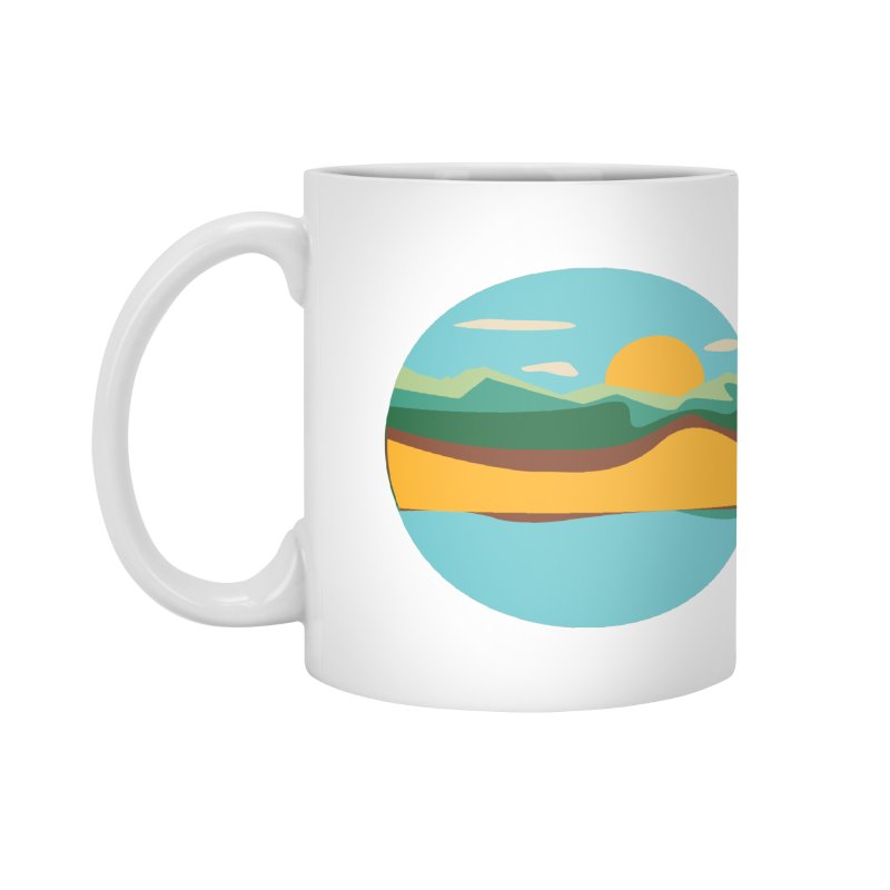 Beach Town Accessories Mug by libedlulo