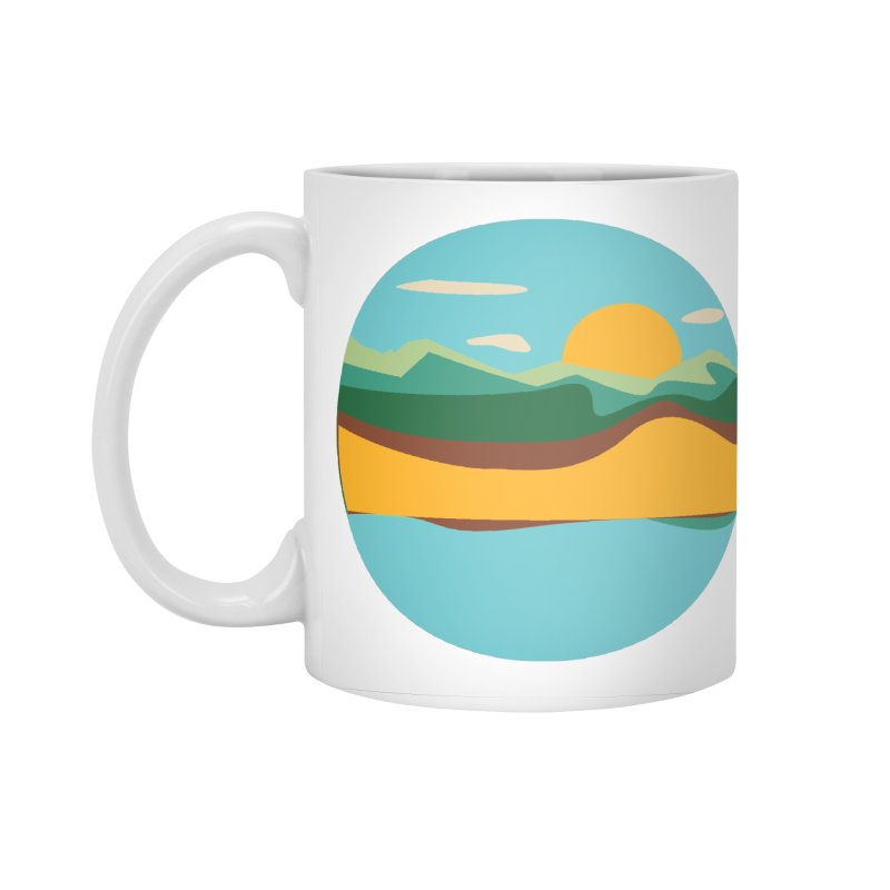 Beach Town Accessories Standard Mug by libedlulo