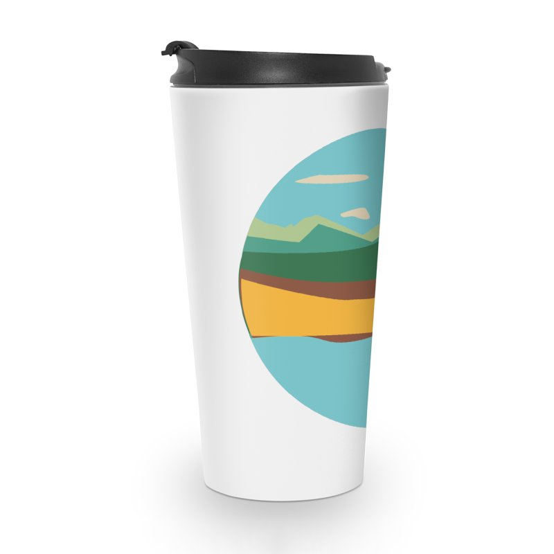 Beach Town Accessories Travel Mug by libedlulo