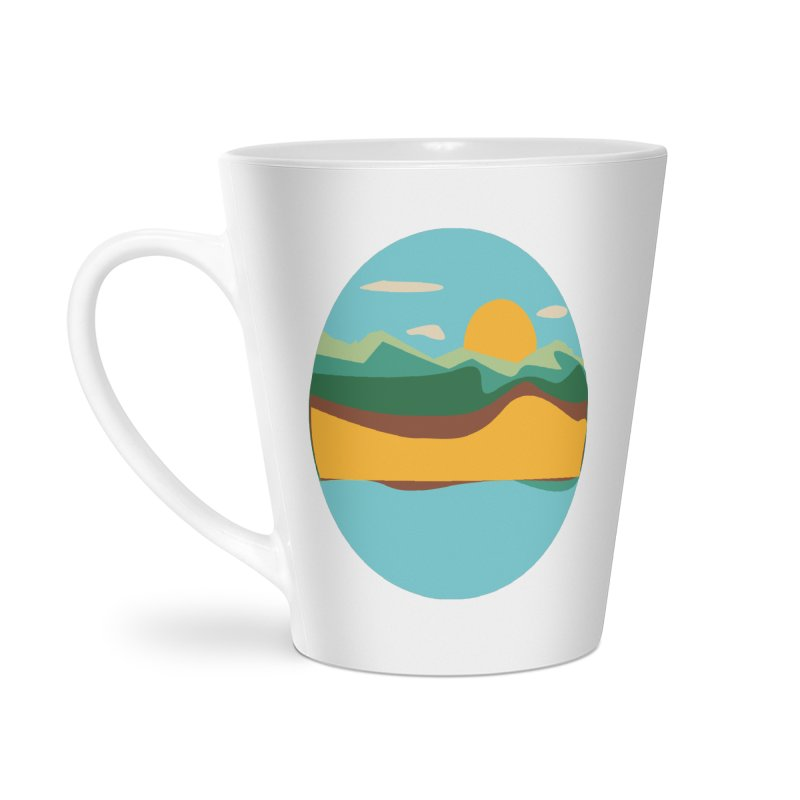 Beach Town Accessories Latte Mug by libedlulo