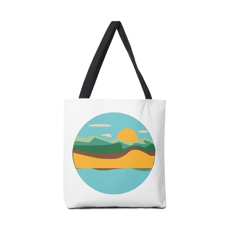 Beach Town Accessories Tote Bag Bag by libedlulo