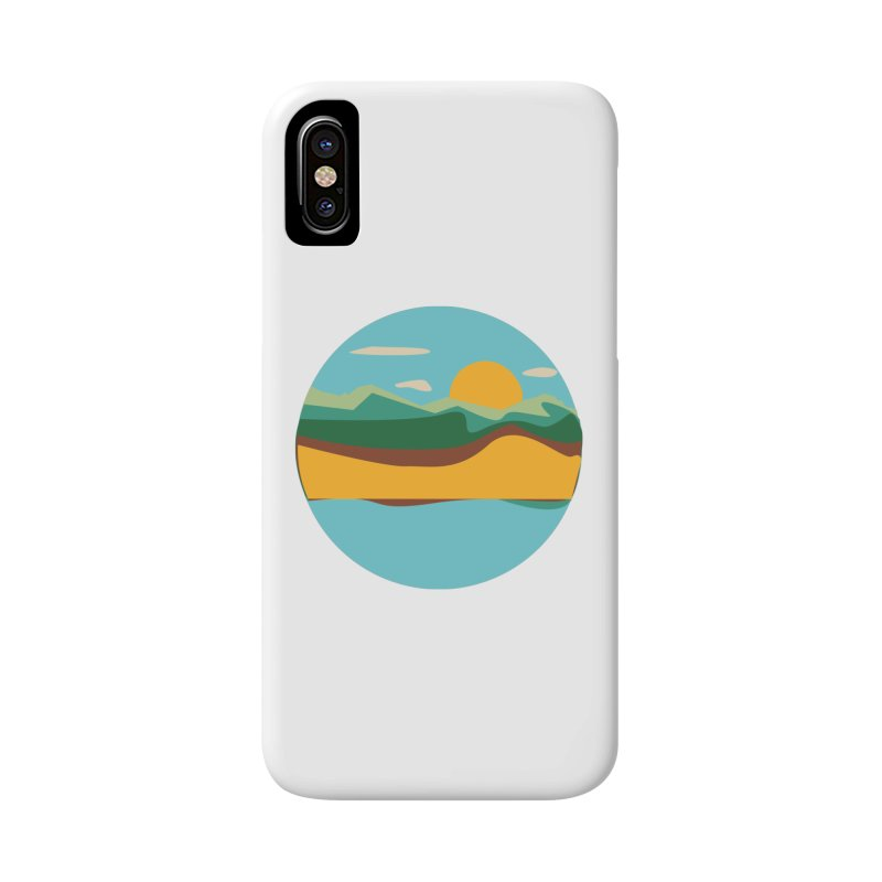 Beach Town Accessories Phone Case by libedlulo
