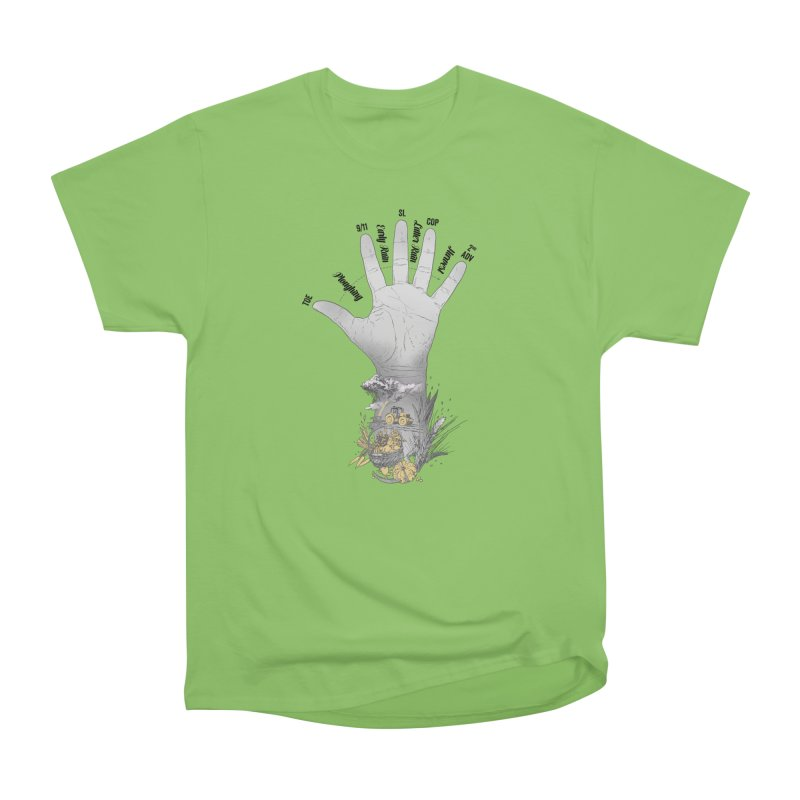 The Hand (grey) Women's T-Shirt by librito's Artist Shop