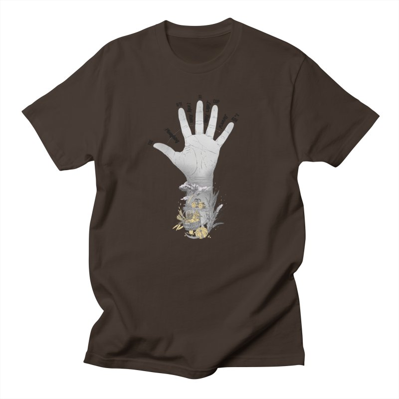 The Hand (grey) Men's T-Shirt by librito's Artist Shop