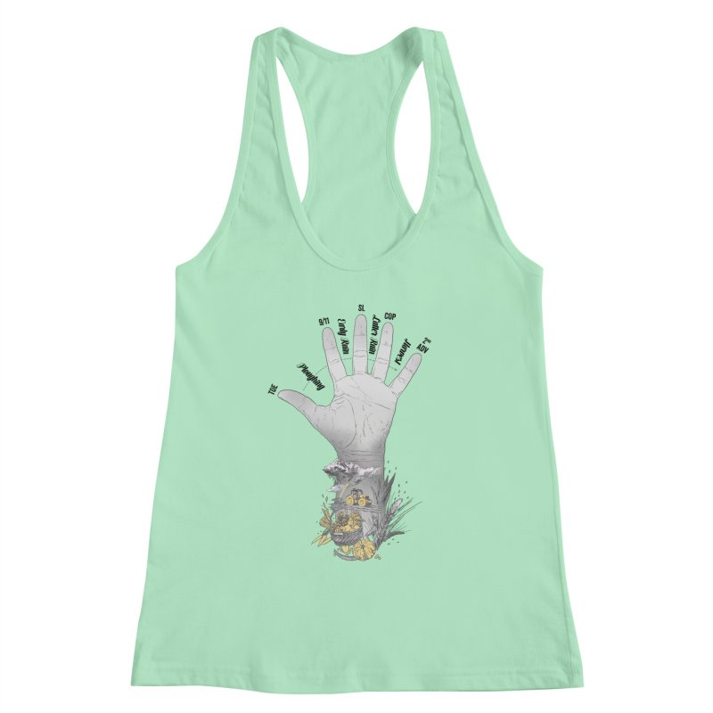 The Hand (grey) Women's Tank by librito's Artist Shop