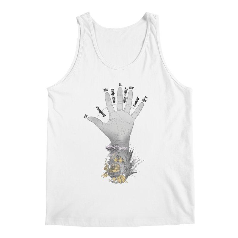 The Hand (grey) Men's Tank by librito's Artist Shop