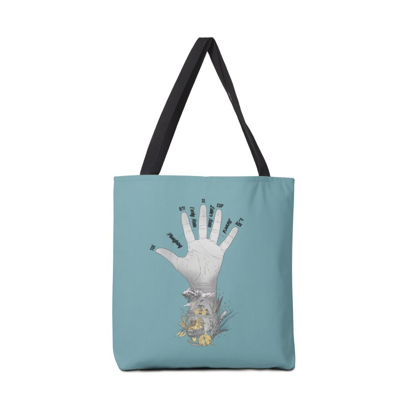 The Hand (grey) Accessories Bag by librito's Artist Shop