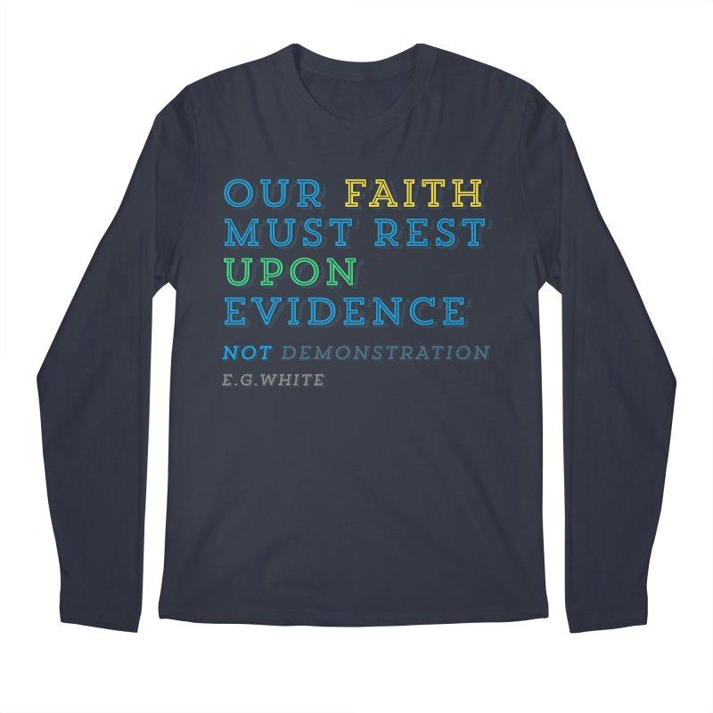 Evidence Men's Longsleeve T-Shirt by librito's Artist Shop