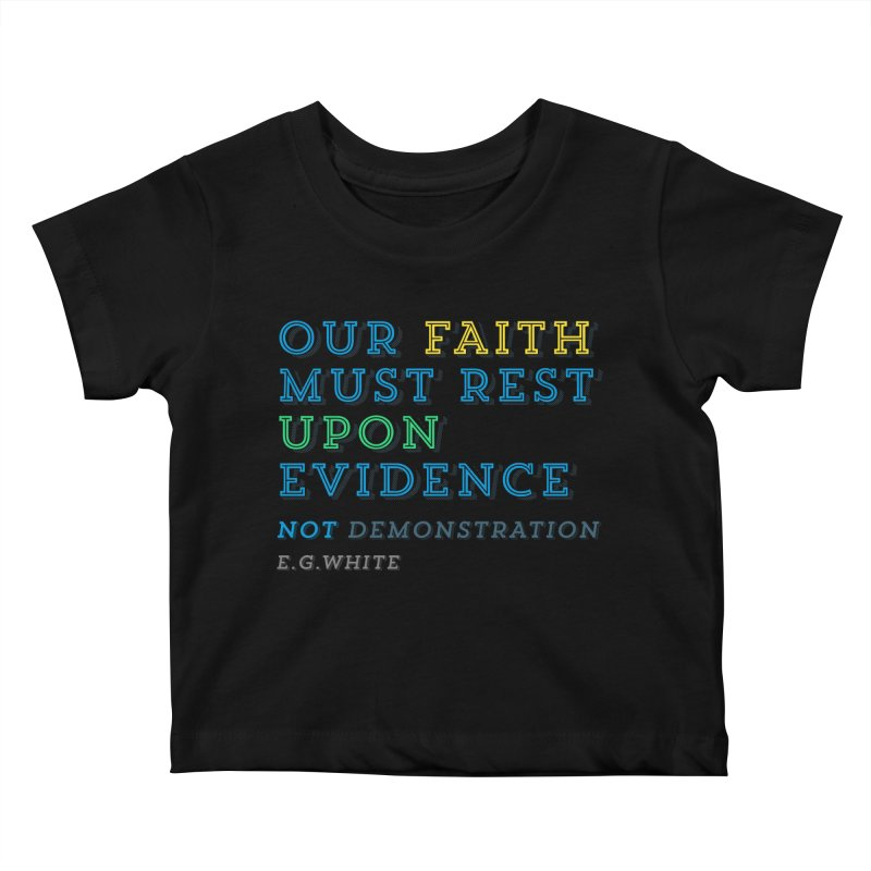 Evidence Kids Baby T-Shirt by librito's Artist Shop