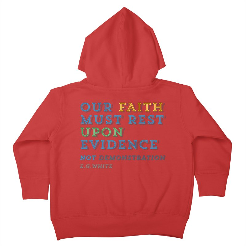 Evidence Kids Toddler Zip-Up Hoody by librito's Artist Shop