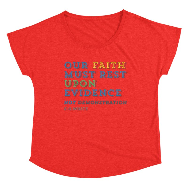Evidence Women's Scoop Neck by librito's Artist Shop