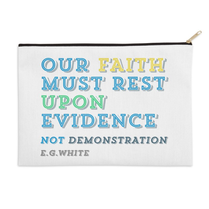 Evidence Accessories Zip Pouch by librito's Artist Shop