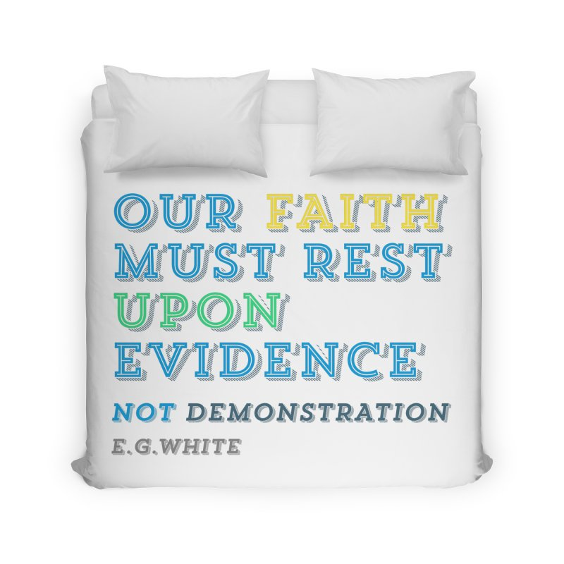 Evidence Home Duvet by librito's Artist Shop