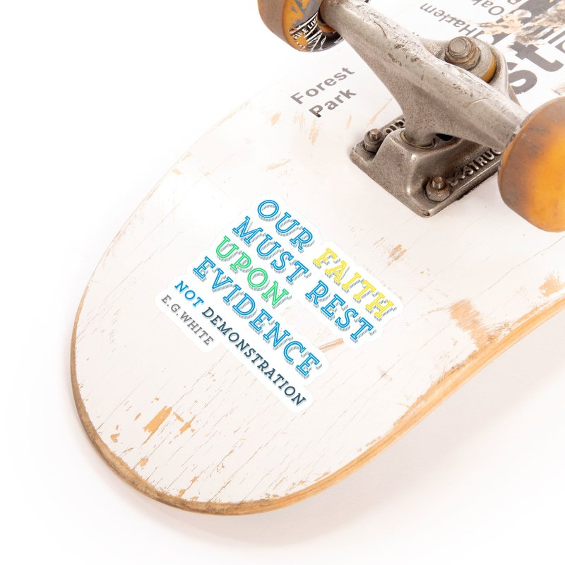 Evidence Accessories Sticker by librito's Artist Shop