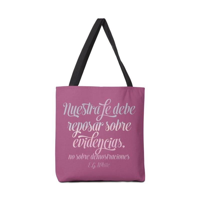 Nuestra fe Accessories Bag by librito's Artist Shop