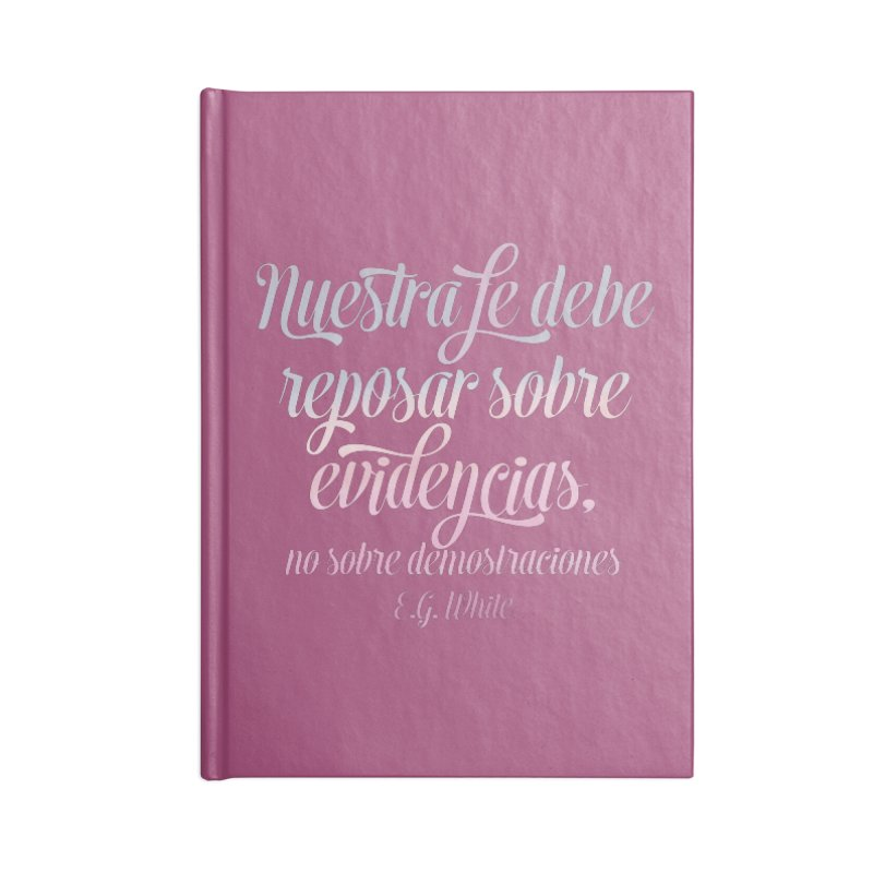 Nuestra fe Accessories Notebook by librito's Artist Shop