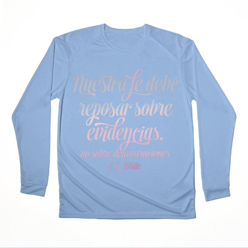 Nuestra fe Men's Longsleeve T-Shirt by librito's Artist Shop
