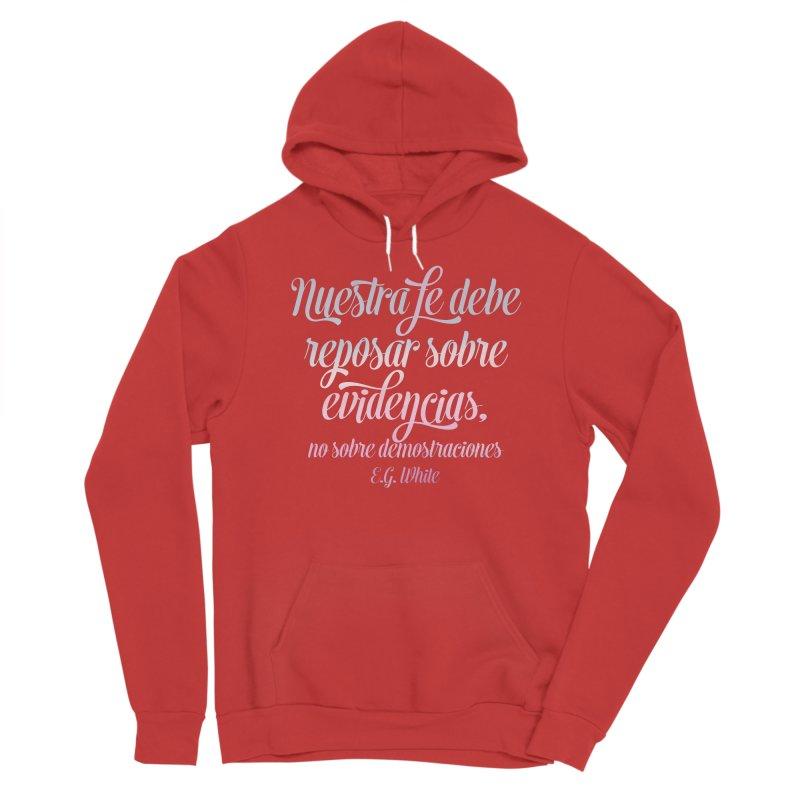 Nuestra fe Men's Pullover Hoody by librito's Artist Shop