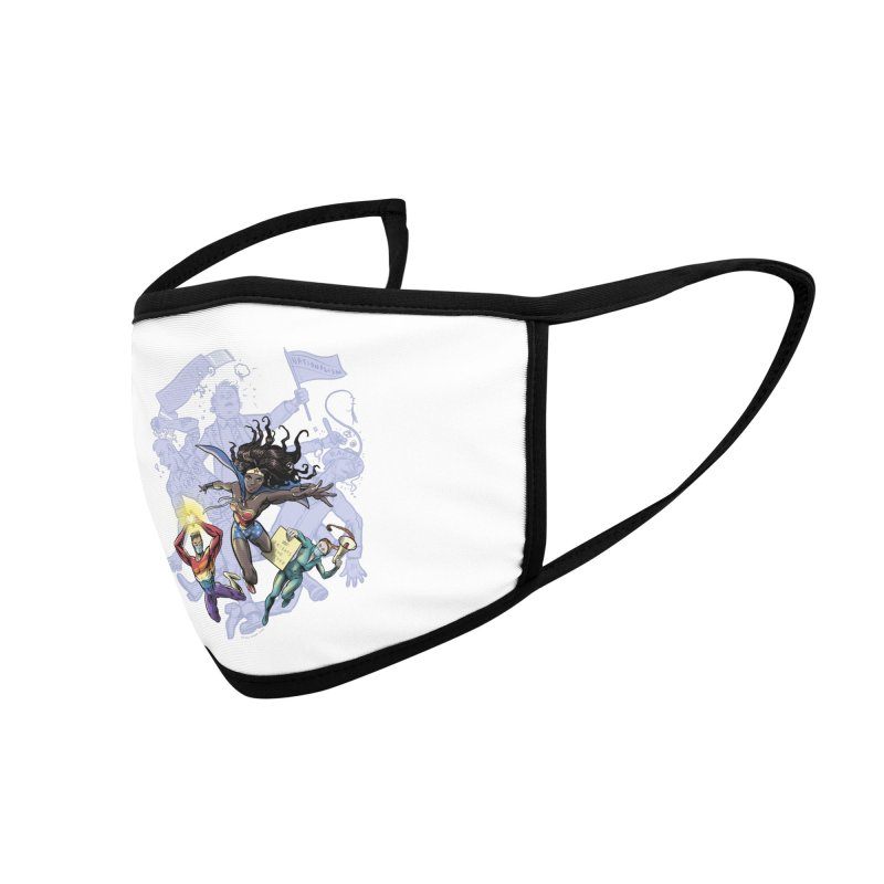 Social Superheroes 2020 Accessories Face Mask by librito's Artist Shop