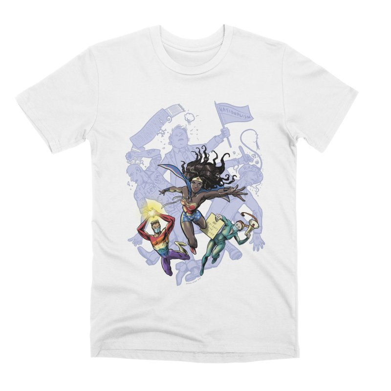 Social Superheroes 2020 Men's T-Shirt by librito's Artist Shop