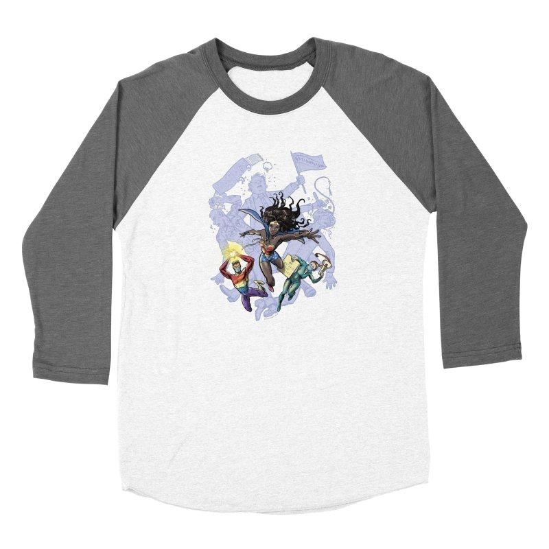 Social Superheroes 2020 Women's Longsleeve T-Shirt by librito's Artist Shop