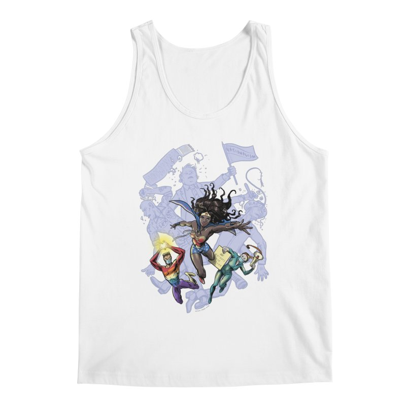 Social Superheroes 2020 Men's Tank by librito's Artist Shop