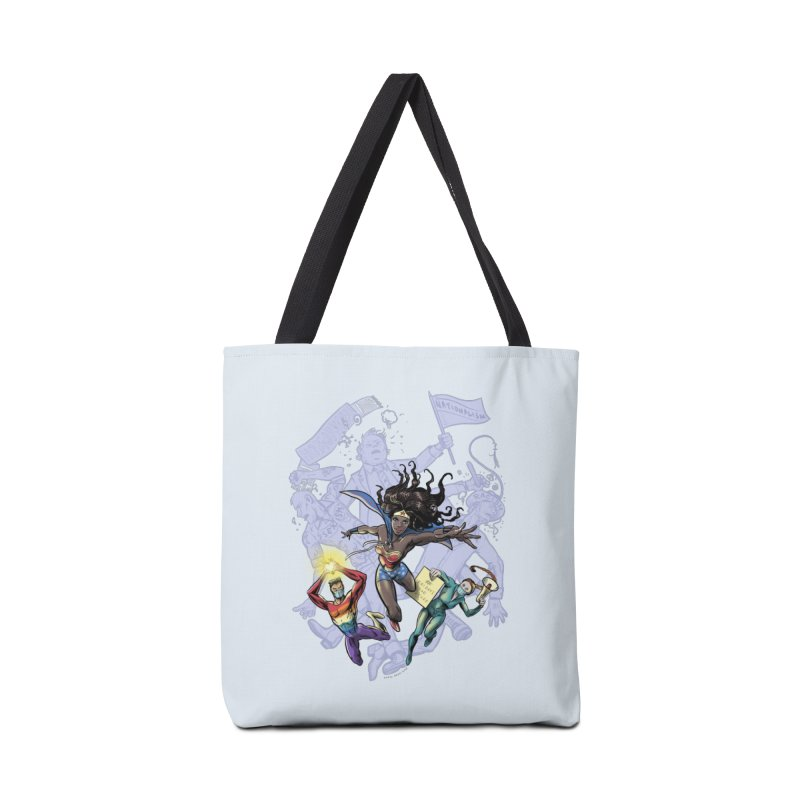 Social Superheroes 2020 Accessories Bag by librito's Artist Shop