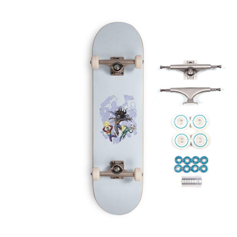 Social Superheroes 2020 Accessories Skateboard by librito's Artist Shop