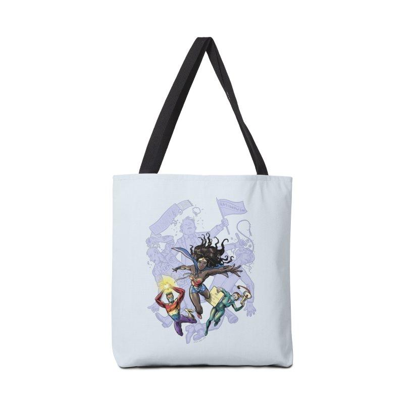 Social Superheroes 2020 Accessories Bag by librito's Artist Shop