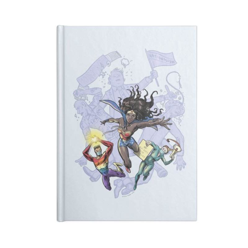 Social Superheroes 2020 Accessories Notebook by librito's Artist Shop
