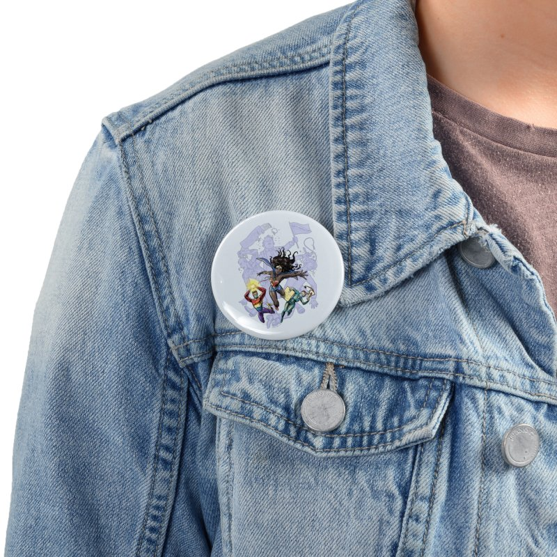 Social Superheroes 2020 Accessories Button by librito's Artist Shop