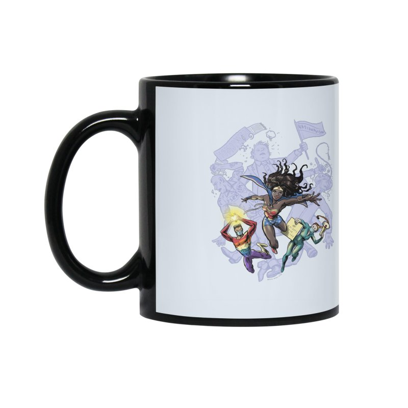 Social Superheroes 2020 Accessories Mug by librito's Artist Shop