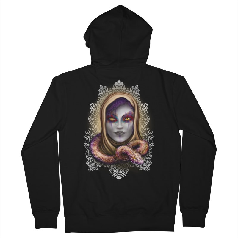 Desert Queen Women's Zip-Up Hoody by licensetoink's Artist Shop