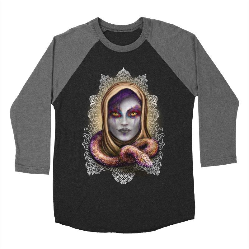 Desert Queen Men's Baseball Triblend T-Shirt by licensetoink's Artist Shop
