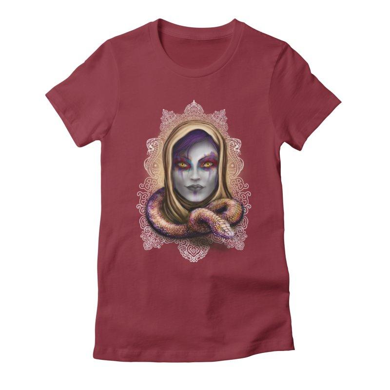 Desert Queen Women's Fitted T-Shirt by licensetoink's Artist Shop