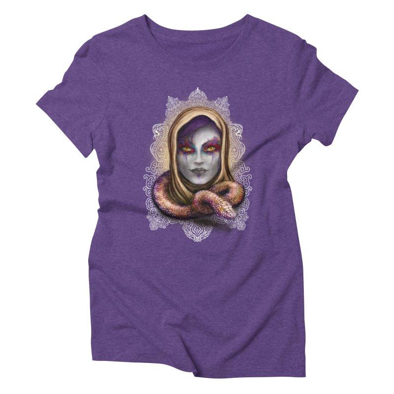 Desert Queen Women's Triblend T-Shirt by License to Ink Artist Shop