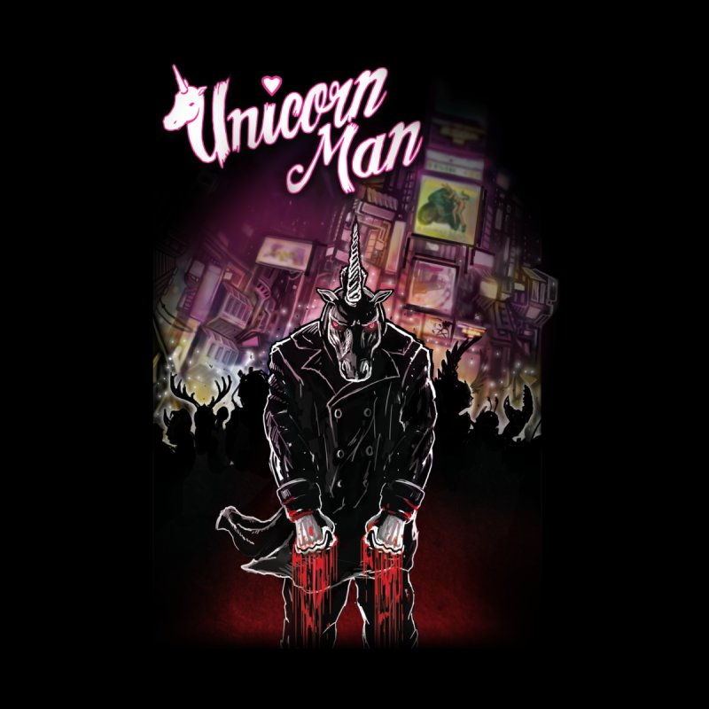 Unicorn Man None  by licensetoink's Artist Shop
