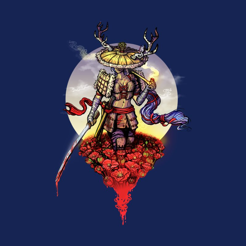 Poppy Samurai by License to Ink Artist Shop