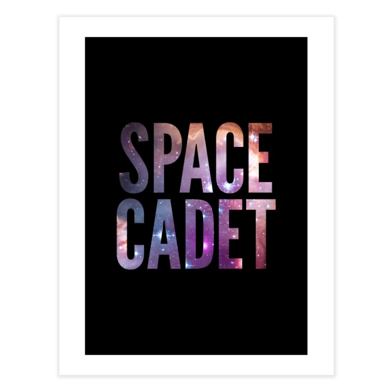 Space Cadet Home Fine Art Print by LierreStudio's Artist Shop