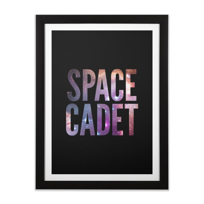 Space Cadet in Framed Fine Art Print Black by LierreStudio's Artist Shop