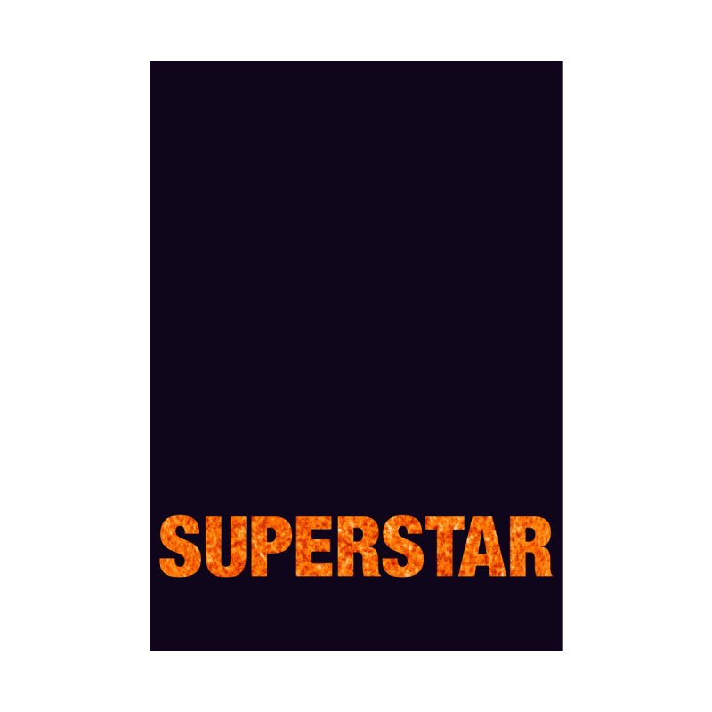 Superstar Home Framed Fine Art Print by LierreStudio's Artist Shop