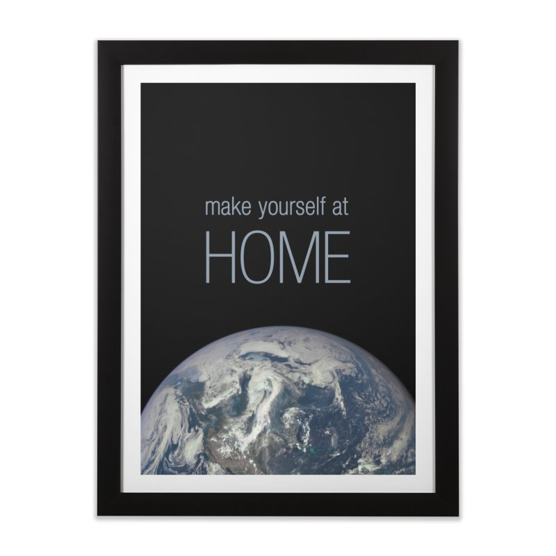 Make Yourself at Home Home Framed Fine Art Print by LierreStudio's Artist Shop