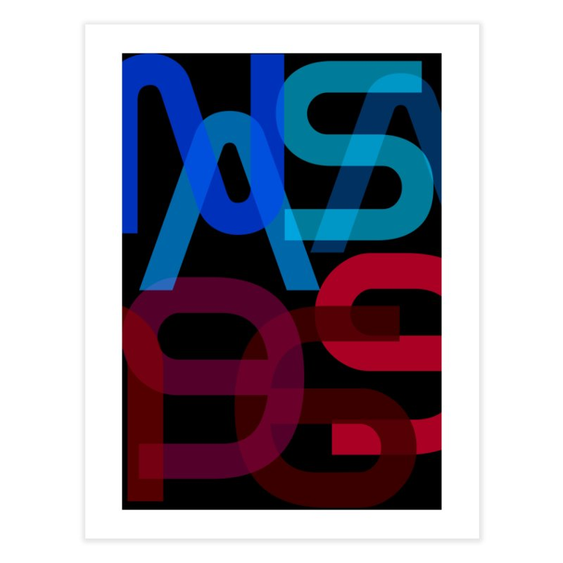 NASA 1969 Home Fine Art Print by LierreStudio's Artist Shop